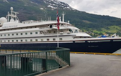 Måløy gets 18 calls from SeaDream Yacht Club`s two cruise ships this summer